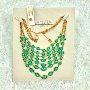 Amirita Singh Turqoise Layered Necklace
